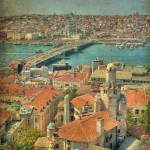"""View over Istanbul - faux vintage"" by waringp"