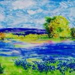 """bluebonnet fields"" by colvin2007"