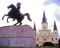Jackson Square & Cathedral of St. Louis