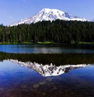 Rainier Full Reflection