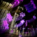 """The Mirage Snowflakes - Abstract No. 1 - Purple"" by AtomicCerebellum"