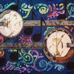 """Music - Banjos"" by sueduda"