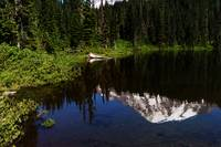 Tranquil Rainier Reflection01