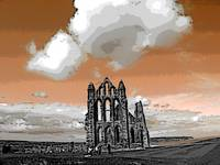 Sketch of Whitby Abbey