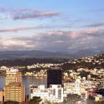 """VIew of Wellington Harbour"" by lj1980s"
