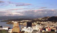 VIew of Wellington Harbour