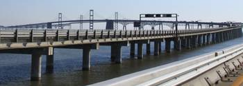 Chesapeake Bay Bridge - eastbound