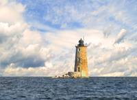 Whaleback Lighthouse Maine Harbor