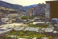 Part of Minoan Palace, Knossos, Crete, Greece 1960