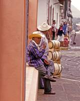 Mexican Town Life