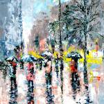 """PARK AVENUE RAIN"" by claudemarshall"
