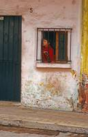 Mexico Child at Window