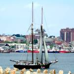 """Ernestina Enters Harbor"" by EdgewaterGallery"