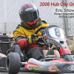 """Eric Shover at 2008 Hub City Grand Prix"" by Kart-Race-Art"