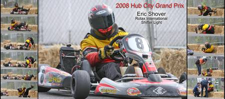 Eric Shover at 2008 Hub City Grand Prix
