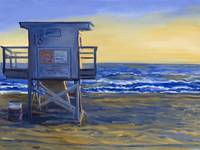 California Coast: Lifeguard Station 13 At Pacific