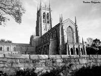 Bryn Athyn – Wide – Black & White