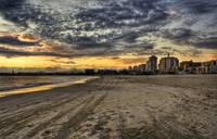 Long Beach Sunset HDR
