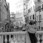 """Venetian Gondolier"" by SLphotography"