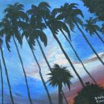 """Bahamian sunset1"" by solomonart"