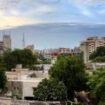 """Ahmedabad Twilight Panorama"" by slashnburn"