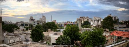 Ahmedabad Twilight Panorama
