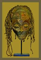 African Mask 3P