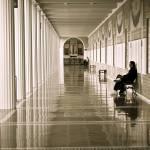 """""""Getty hallway"""" by fenderog"""