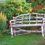 """garden bench"" by MaureenReilly"