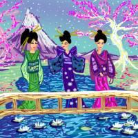 Blossom Lane Art Prints & Posters by Desiree Franco