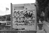 Graffiti in Paris France
