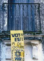 Mexico Vote Sign