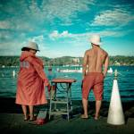 """Lifeguards, Lake Washington(v. 1)"" by AdamC"