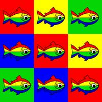 9 Oncor Hynchus Mykiss - 9 Raibow Trouts