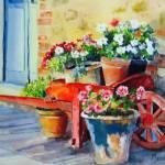 """Venetian Garden"" by KarenBradshaw"