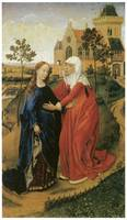 Rogier Van Der Weyden's Visitation of Mary