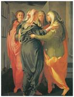 Jacopo Da Pontormo's The Visitation