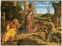 Andrea Mantegna's Adoration of the Shepherds