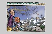 The Adventure of Dwarf and Elf (& Weretiger!)