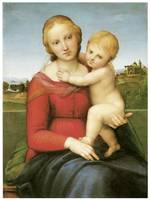 Raphael's The Small Cowper Madonna