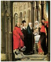 Hans Memling's The Presentation in the Temple