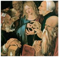 Albrecht Durer's Christ among the Doctors