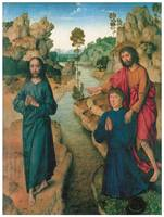 Dieric Bouts Baptism of Jesus