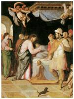 Santi Di Tito's Resurrection of Jairus's Daughter