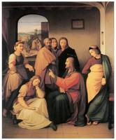 Overbeck's Christ with Mary and Martha