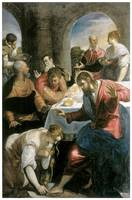 Tintoretto's The Banquet in the House of Simon