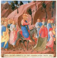 Fra Angelico's Entry into Jerusalem