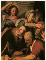 Rembrandt's Christ Driving Money-changers