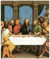 Hans Holbein the Younger's The Last Supper