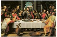 Juan De Juanes' The Last Supper